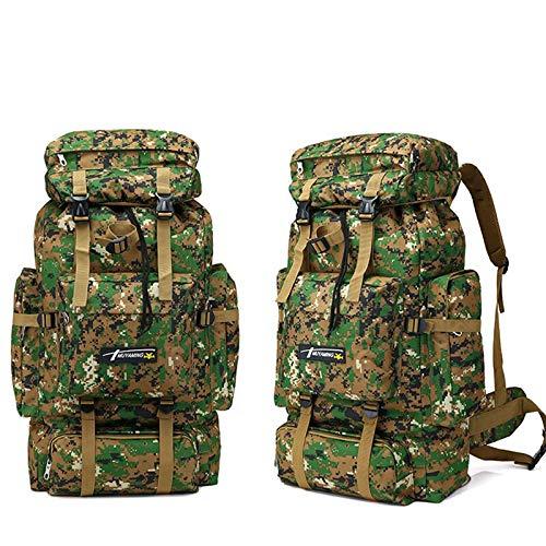 Jungle Digital  MJKAR Sac à Dos De Randonnée 70L sac à dos Mountaineebague Hommes voyage de plein air Sport sacs sac à doss Hunting Camping sac à dos