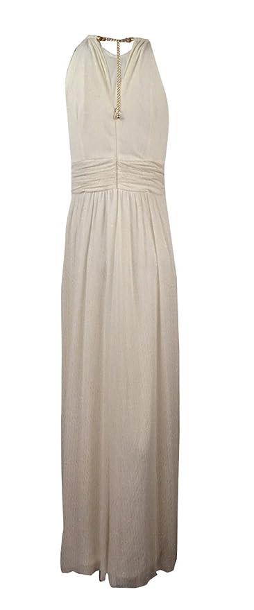 f22c2b142cd Jessica Howard Women s Glittered Halter Chiffon Gown (8