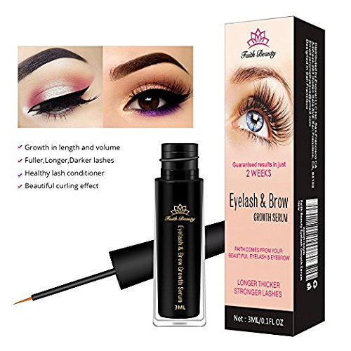 71fe150c1da Faith Beauty Eyelash & Eyebrow Growth Serum (High Potency) Grow Longer,  Fuller, Thicker Eyelash& Brow.(3 ML) - Buy Online in Oman. | Beauty  Products in Oman ...