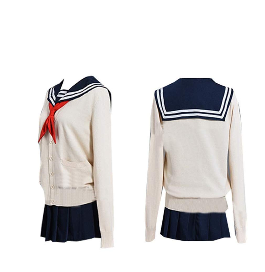 starfun My Hero Academia Boku no Hero Academia Toga Himiko Cosplay Costume Cosplay Costume Cross My Body Outfit (XXX-Large, US Size)