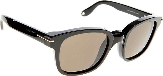 Givenchy Lunettes de soleil 7000 S - 807 EJ  Black  Amazon.fr ... c023710f023e