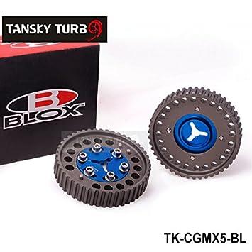 tansky - Blox - Cam Gear Polea para Mazda MX-5 MX5 BP6 BP8 NB6 NB8 MX5 gearstk-cgmx5-bl el árbol de levas: Amazon.es: Coche y moto