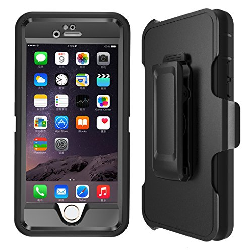iPhone 6s Case, Heavy Duty 4 Layer Built-in Tou...