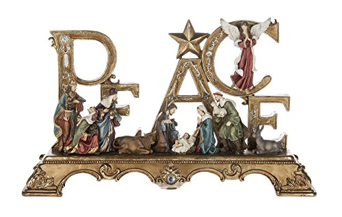 - Regal Peace Nativity Figurine