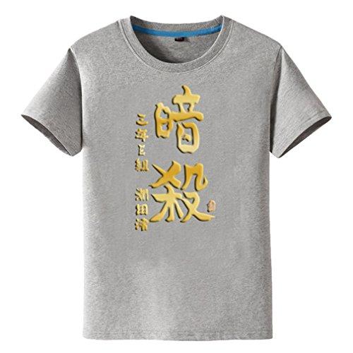 Bromeo Assassination Classroom Anime Ropa Mangas Cortas Tee T-shirt Camisetas 1798