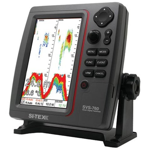 Dual Frequency Color Lcd Fishfinder (SI-TEX SVS-760 Dual Frequency Sounder - 600W)
