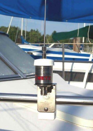 Manta 6 VHF Antena Marina con Soporte por METZ comunicación ...