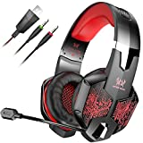 VersionTech Stereo Gaming Headset Wired Over Ear Headphone Review and Comparison