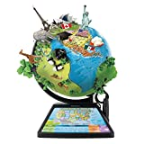 Oregon Scientific SG268R-K Smart Globe Adventure AR World Geography Educational Games For Kids - Learning Toy, 4000+ Fun facts, 220+ Countries to Explore, 25 Games to Play