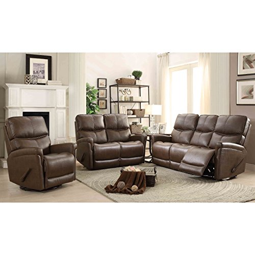 Mac Motion Easy Living Cologne 3 Piece Reclining Living Room Set