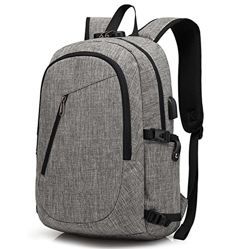 cdd85970938 Laptop Backpack, Travel Computer Bag for Women & Men, Anti Theft Water  Resistant College