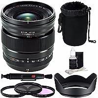 Fujifilm XF 16mm f/1.4 R WR Lens + 67mm 3 Piece Filter Set (UV, CPL, FL) Bundle 1