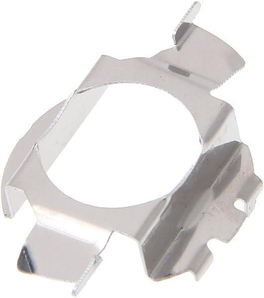 1Pcs H7 LED HID Xenon Headlamp Bulb Holder Conversion Adapter Retainer Clip for Automobiles Headlamp Mount Socket Cradle Retainers Clip Kit FlowerPEI