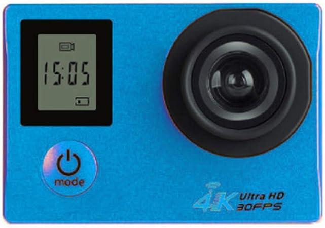 ZCC CameraZCCCámara Deportiva HD Pantalla Dual 4K HD Deportes de Buceo al Aire Libre Cámara DV cámara integrada máquina 8 Millones de píxeles Material ABS Pantalla LCD de 2.0 Pulgadas,Azul: Amazon.es: Hogar