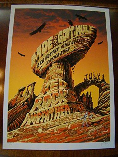 Moe. Gov't Mule Warren Haynes Music Poster Moe. Gov't Mule Emek 2005 ()