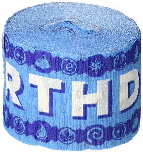 "Amscan Swashbuckling Skylanders Crepe Streamer Birthday Party Decoration (1 Piece), 30"", Blue"