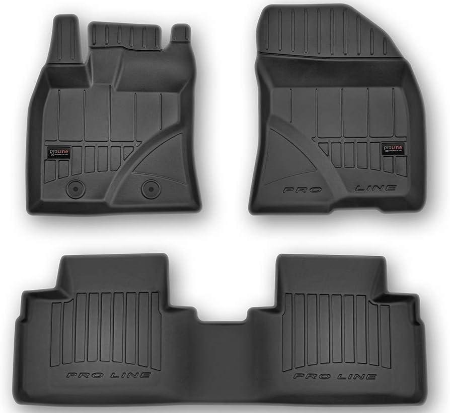 Frogum Alfombrillas de Goma 3D Pro-Line Compatible con Toyota Avensis III 2009-2018