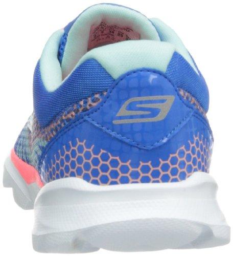 Skechers Rendimiento Go Run de Sonic las zapatillas de running Blue/Hot Pink