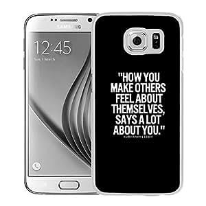 Make Them Feel (2) Durable High Quality Samsung Galaxy S6 Case