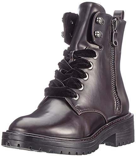 s.Oliver Damen 26245 Combat Boots Rot (Bordeaux)
