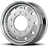 Alcoa 22.5'' x 9'' Flat-Face 10000LB Steer 10 Lug Polished Front Wheel (893651)