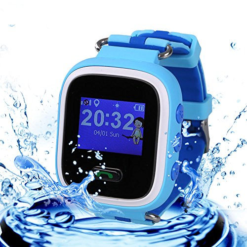 Cewaal Bluetooth Smart Watches Q60 Wristband Tracker SOS Call for Kids Child Android iOS iPhone