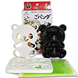 japanese bento cutter - Japanese Bento Accessories Cute Baby Panda Shape Rice Mold & Seaweed Nori Cutter Set