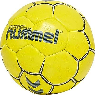 hummel HMLPREMIER Ball, Unisex Adulto, Amarillo/Blanco, 3: Amazon ...