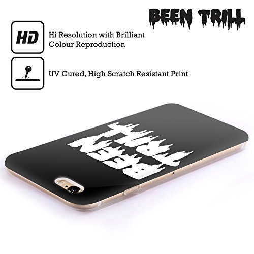 Official Been Trill Logo Drip 1 Black And White Soft Gel Case for Apple iPhone 6 Plus / 6s Plus