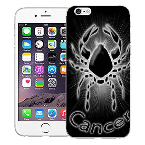 "Mobile Case Mate iPhone 6 4.7"" Silicone Coque couverture case cover Pare-chocs + STYLET - Black Cancer pattern (SILICON)"