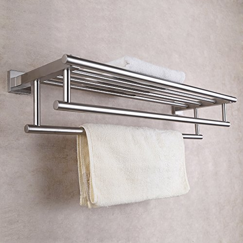 free shipping KES Stainless Steel Bath Towel Rack Bathroom Shelf ...