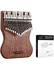 $35 » GECKO Kalimba 17 Keys Thumb Piano, Mahoganywood Mbira, Finger Piano Easy to Learn, Portable Musical Instrument, Gift for Kids Adult Beginners