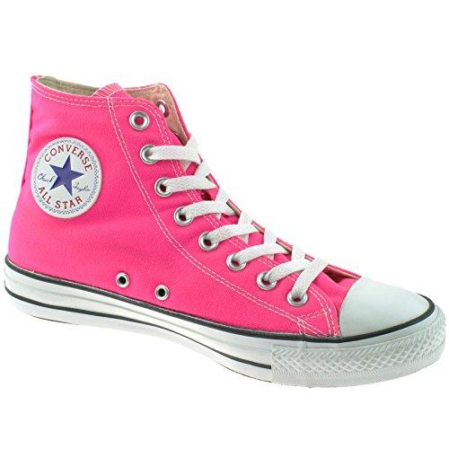 Shoes Uk 8 Pink Stars Taylor Knckout Hi Chuck All Converse Xw76zq86