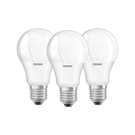 Osram Bombilla LED equivalente a 60 Vatios, mate