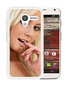 Beautiful Girl Cover Case For Motorola Moto X With Annely Gerritsen Girl Mobile Wallpaper(9) Phone Case