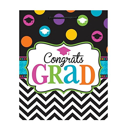 Large Dream Big Graduation Gift Bag Party Supply, Paper, 13
