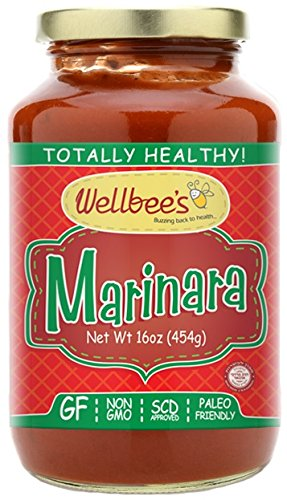 (Wellbee's Marinara Sauce - Paleo & SCD Approved)