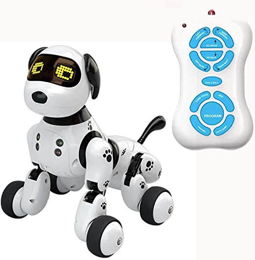 tulipuk Remote Control Robot Dog Toy, Smart Wireless Mini
