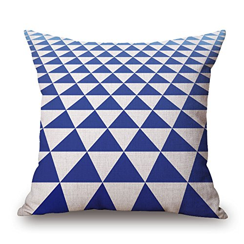 Bestseason Pillow Covers 18 X 18 Inches / 45 By 45 Cm(two Sides) Nice Choice For Family,home,birthday,drawing Room,bar,couples Geometric -