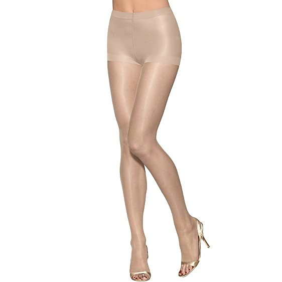 Hanes Silk Reflections Ultra Sheer Toeless Control Top Pantyhose, Buff, CD