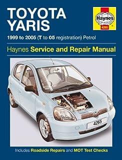 manual toyota yaris 2002
