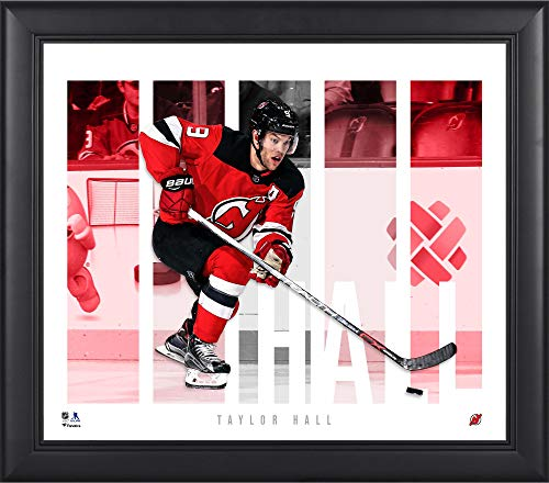 Taylor Hall New Jersey Devils Framed 15