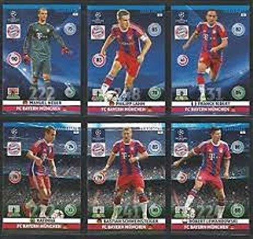 Champions League Adrenalyn XL, stagione 2014/2015, Base della squadra Bayern Monaco, 14/15