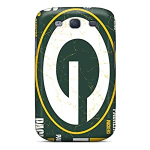 Defender Cases With Nice Appearance (green Bay Packers) For Galaxy S3