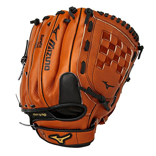 Mizuno Prospect GPL1200Y2 12' Youth Baseball Glove (Right-Handed Throw) (Baseball Leather 12' Glove)