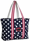 Cheap Equine Couture Women's Emma Tote Bag, EC Navy/Hot Pink, Standard