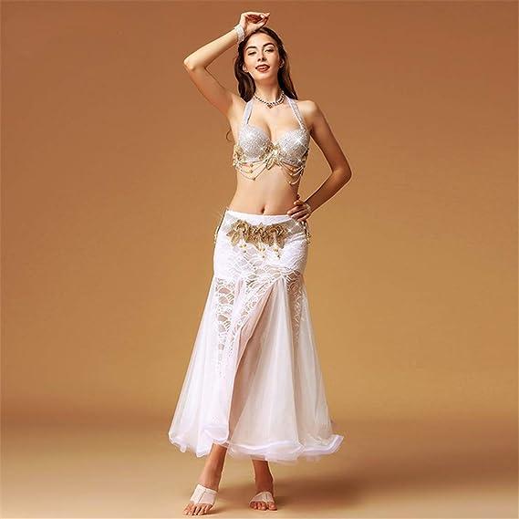fd1233224516 Bangxiu-Belly Dance Disfraz de Danza del Vientre Falda de Danza del ...