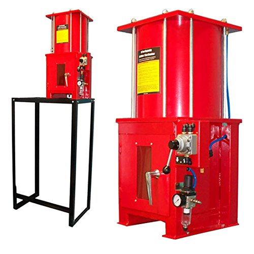 Crusher Stand - Air Hydraulic 10 Ton Oil Filter Can Crusher Crush Smash With Floor Stand