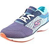 Skechers Women's GOwalk Sport Walking Shoe,Navy/Aqua,US 8 M