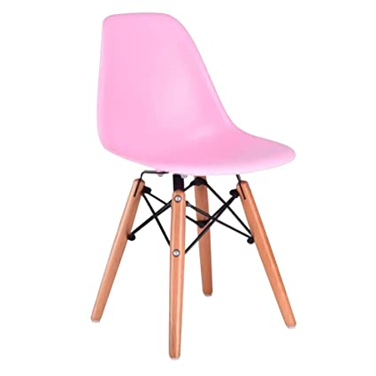 Magnificent Amazon Com Kids Eames Lounge Chair Dining Side Armless Machost Co Dining Chair Design Ideas Machostcouk